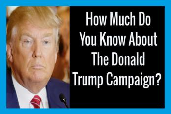 How Much Do You Know About The Donald Trump Campaign?